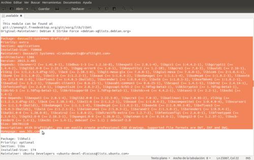 drafsight ubuntu 64 bits